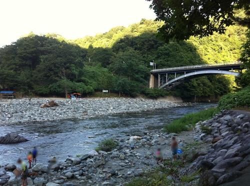 道志渓谷キャンプ場
