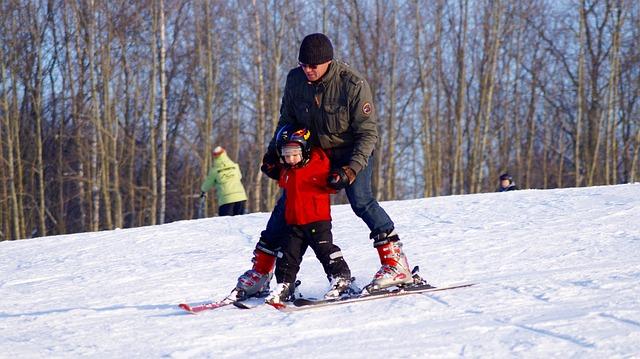 子供とスキー